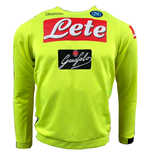 Sweat-shirt Naples 2018-2019 (Jaune)