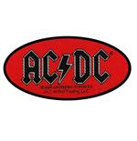 Patch AC/DC - Design: Oval Logo