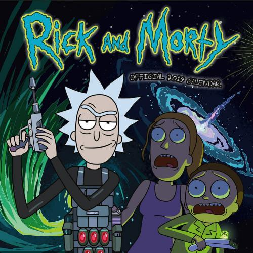 Calendrier Rick and Morty 2019