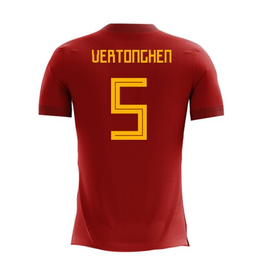 T-shirt Belgique Football 2018-2019 Home
