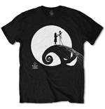 T-shirt The Nightmare Before Christmas: Moon