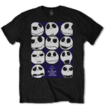 T-shirt Nightmare before Christmas pour homme - Design: Blockheads