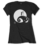 T-shirt Nightmare before Christmas pour femme - Design: Moon