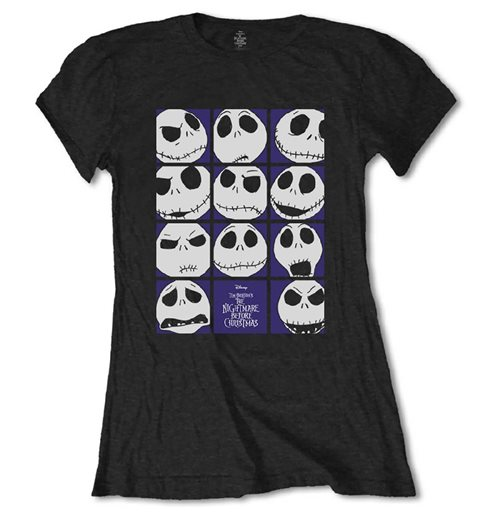 T-shirt Nightmare before Christmas pour femme: Blockheads