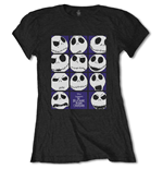 T-shirt Nightmare before Christmas pour femme - Design: Blockheads
