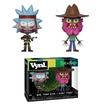 Rick et Morty pack 2 VYNL Vinyl figurines Rick & Scarry Terry 10 cm