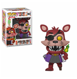 Five Nights at Freddy's Pizza Simulator Figurine POP! Games Vinyl Rockstar Foxy 9 cm