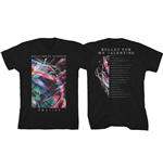 T-shirt Bullet For My Valentine  pour homme - Design: Gravity Euro Tour 2018