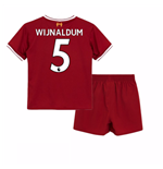 Tenue de football pour enfant Liverpool FC 2017-2018 Home