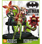 Batman jeu de figurines 2nd Edition Starter Set Gotham City Sirens *ANGLAIS*