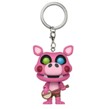 Five Nights at Freddy's Pizzeria Simulator porte-clés Pocket POP! Vinyl Pigpatch 4 cm