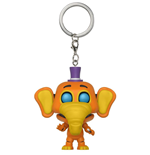 Five Nights at Freddy's Pizzeria Simulator porte-clés Pocket POP! Vinyl Orville 4 cm