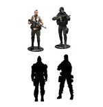 Call of Duty assortiment figurines 15 cm (8)