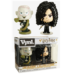 Harry Potter pack 2 VYNL Vinyl figurines Bellatrix & Voldemort 10 cm