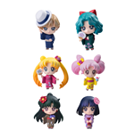 Sailor Moon Petit Chara pack 6 trading figures Soldiers of the Outar Solar System 6 cm