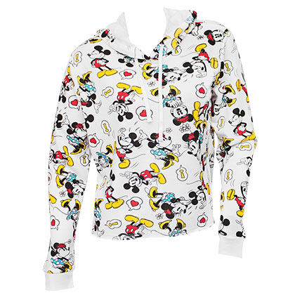 Sweat-shirt Mickey Mouse pour femme