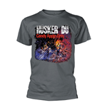 T-shirt Husker Du CANDY APPLE GREY COVER