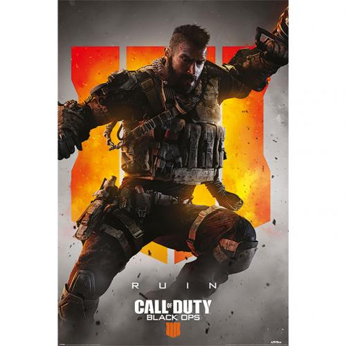 Poster Call Of Duty Black Ops 4 - Ruin