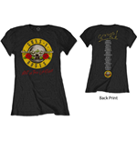 T-shirt Guns N'Roses pour femme - Design: Not In This Lifetime Tour