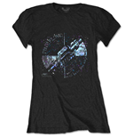 T-shirt Pink Floyd pour femme - Design: Machine Greeting Blue