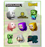 Minecraft présentoir figurines anti-stress Squishme 6 cm (24)