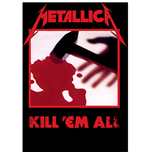 Poster Metallica - Design: Kill 'em all