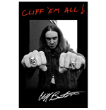 Poster Metallica - Design: Cliff 'Em All