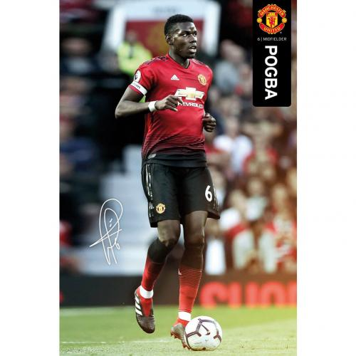 Poster Manchester United FC Pogba 49