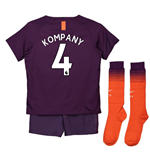 Tenue de football pour enfant Manchester City FC 2018-2019 Third