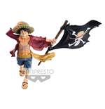 One Piece figurine magazine Monkey D. Luffy 22 cm