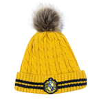 Harry Potter bonnet a Pom-Pom Hufflepuff