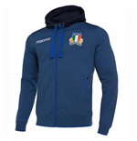 Sweat-shirt Italie rugby 2018-2019 (bleue)