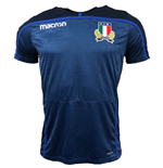 Polo Italie rugby 2018-2019 (bleue)