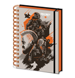 Call of Duty Black Ops 4 cahier à spirale A5 Wiro