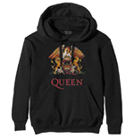 Pull-over Queen unisexe - Design: Classic Crest