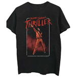 T-shirt Michael Jackson  pour homme: Thriller White Red Suit