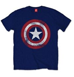 T-shirt MARVEL: Captain America - Distressed Shield (Unisexe)
