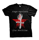 T-shirt Rage Against The Machine - Bulls On Parade Mic