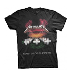 T-shirt Metallica MOP EUROPEAN TOUR 86'