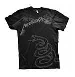 T-shirt Metallica BLACK ALBUM FADED