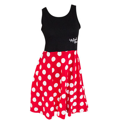 Robe Minnie Mouse Polka à Petit Pois
