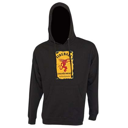 Sweat-shirt Fireball Cinnamon Whisky pour homme
