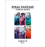 Final Fantasy Art book Ultimania Archive Volume 1 *ANGLAIS*
