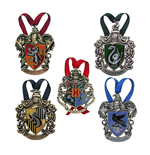 Harry Potter pack 5 décorations sapin Hogwarts