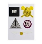 Harry Potter set autocollants vinyle Symbols