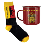 Harry Potter mug et chaussettes Set Gryffindor Quidditch
