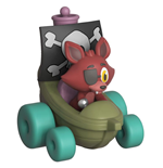 Five Nights at Freddy's Super Racers Diecast figurine Foxy the Pirate 5 cm