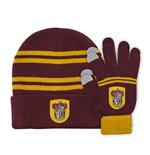 Harry Potter set bonnet & mitaines enfant Gryffindor
