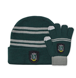Harry Potter set bonnet & mitaines enfant Slytherin