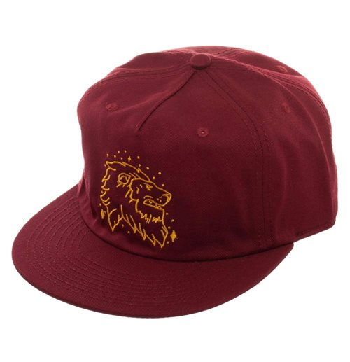 Harry Potter casquette hip hop Gryffindor 5 Panel Flatbill